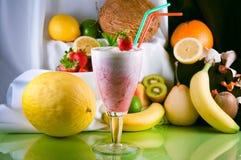 Erdbeercreme Stockfotos