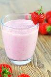 Erdbeercreme Stockfotografie