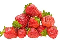Erdbeere. Stockbild