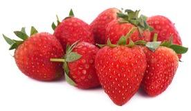 Erdbeere auf weißem Hintergrund lizenzfreies stockbild