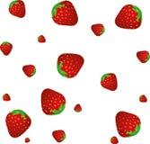 Erdbeere BG Stockfoto
