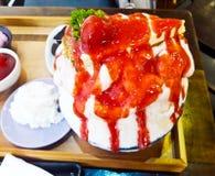 Erdbeere Bing Su stockbild