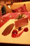 "Erdbeere-cheesecake "" stockfoto"