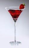 Erdbeere-Cocktail Stockbilder