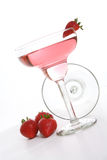 Erdbeere-Cocktail stockfotografie