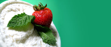 Erdbeere Delite Stockfoto