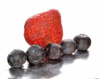 Erdbeere und Blaubeeren Lizenzfreies Stockbild