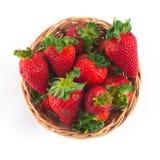 Erdbeere in einer Schüssel Lizenzfreie Stockfotos