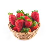 Erdbeere in einer Schüssel Stockfotografie