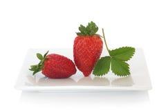 Erdbeere-Freude Lizenzfreie Stockfotografie