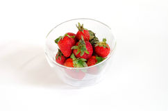 Erdbeere frisch Stockbilder