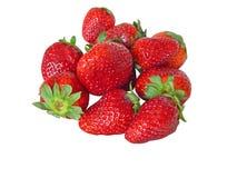 Erdbeere getrennt Lizenzfreie Stockfotos