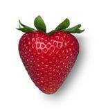 Erdbeere-Inneres Lizenzfreie Stockfotografie