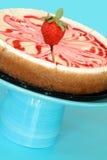 Erdbeere-Käsekuchen Stockfotos