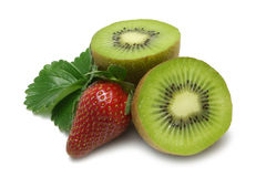 Erdbeere-Kiwi Lizenzfreie Stockfotos