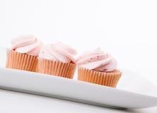 Erdbeere-kleine Kuchen Lizenzfreie Stockfotografie