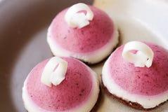 Erdbeere-Kuchen lizenzfreies stockfoto