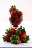 Erdbeere-Locher Lizenzfreies Stockfoto