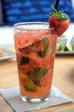 Erdbeere Mojito Lizenzfreie Stockbilder