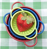 Erdbeere-Picknick stockbilder