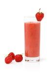 Erdbeere Smoothie stockfotos