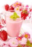Erdbeere Smoothie Stockfoto