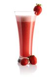 Erdbeere Smoothie lizenzfreies stockfoto