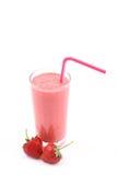 Erdbeere Smoothie Lizenzfreie Stockfotografie