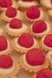 Erdbeere-tartalettes Stockfoto