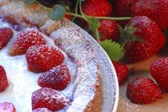 Erdbeere tarte Lizenzfreie Stockfotografie
