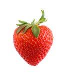 Erdbeere trennte Stockfoto