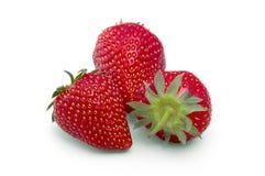 Erdbeere trennte stockbild