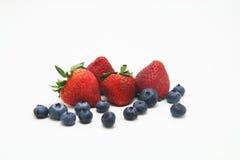 Erdbeere und Blaubeere Stockfotos