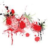 Erdbeereabbildung Stockbilder