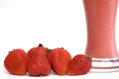Erdbeerecocktail Lizenzfreie Stockfotos