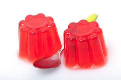 Erdbeeregelee Stockfoto