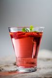 Erdbeeregetränk Stockfotos
