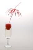 Erdbeeregetränk Lizenzfreies Stockbild