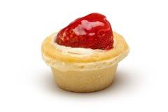 Erdbeerekleiner kuchen Lizenzfreies Stockbild
