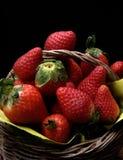 Erdbeerekorb Lizenzfreie Stockfotos