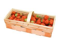 Erdbeerekorb Stockfoto