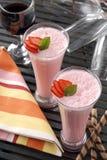 Erdbeerekremeis Stockbild