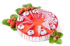 Erdbeerekuchen Lizenzfreies Stockbild
