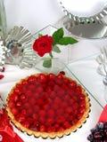 Erdbeerekuchen lizenzfreie stockfotografie