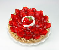 Erdbeerekuchen Lizenzfreie Stockfotos