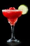 Erdbeeremargarita Lizenzfreie Stockfotos