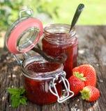 Erdbeeremarmelade Lizenzfreies Stockfoto