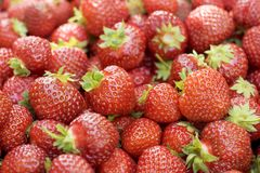 Erdbeeren Lizenzfreie Stockfotografie