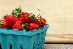 Erdbeeren. stockfotos