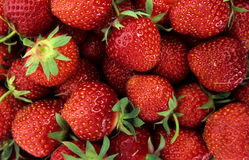 Erdbeeren Stockfoto